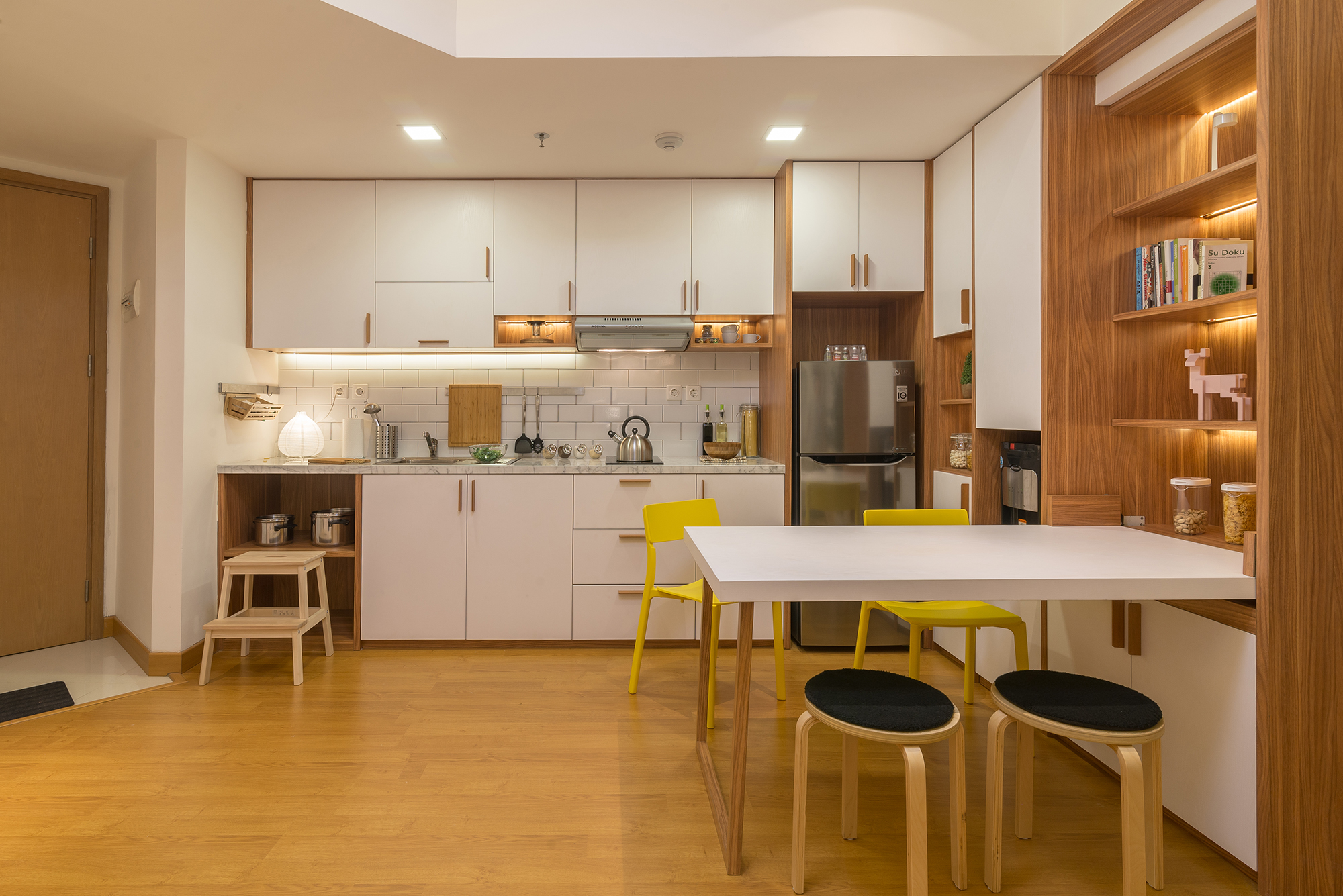 Kitchen design in Apartment